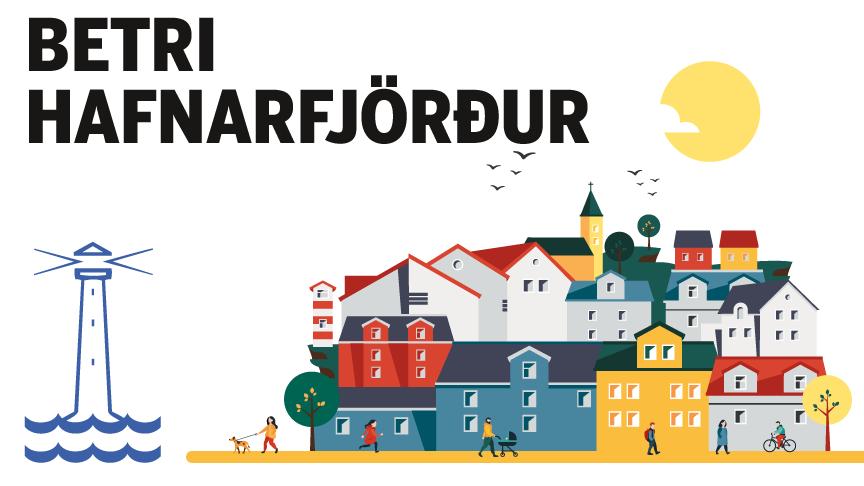 Gatnamótin við Álfaskeið og Flatahraun