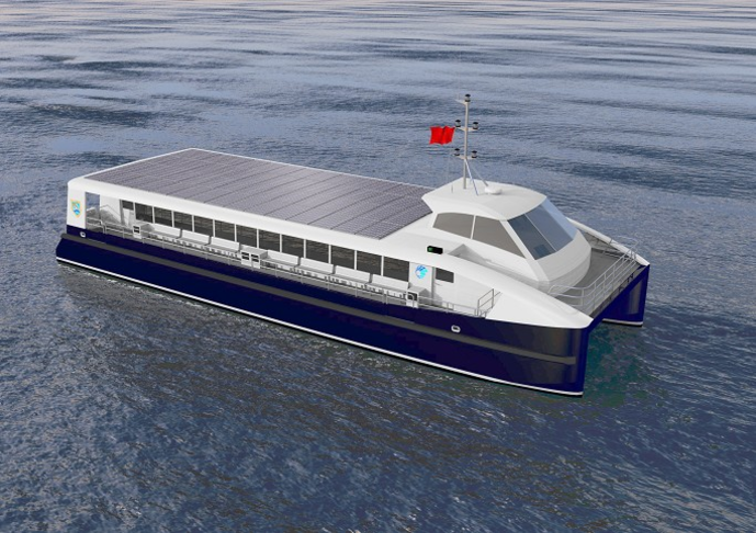 Public Transport - Sea Ferries (ecological)
