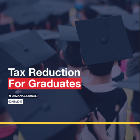 Tax Reduction For Graduates