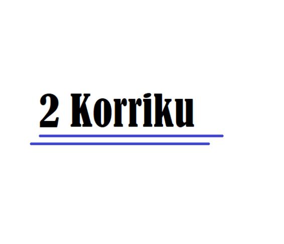 2 Korriku