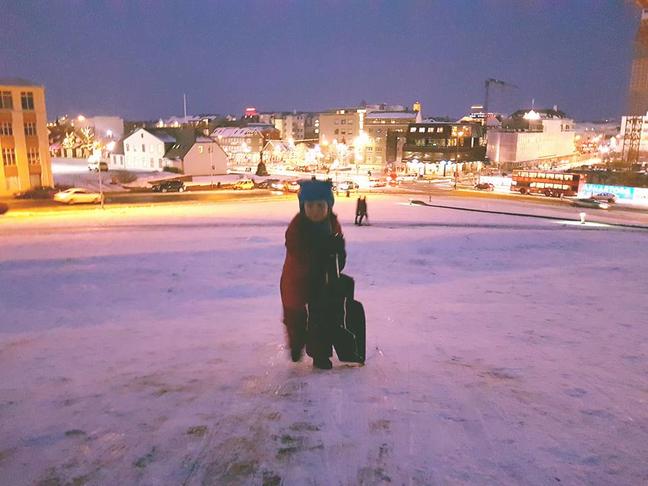 Arnarhóll - Bætt öryggi snjóþotuiðkenda