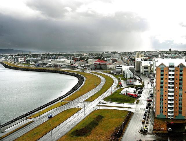 Gróðursetning lágrunnagróðurs við Sæbrautina