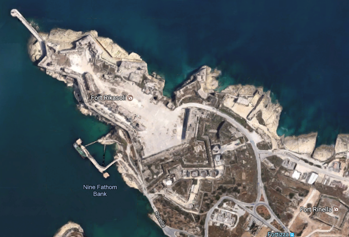 Restawr ta' Fort Rikasoli, Delimara u ohrajn