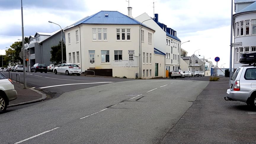 Bæta öryggi og ásýnd gatnamóta Framnesvegs og Vesturgötu