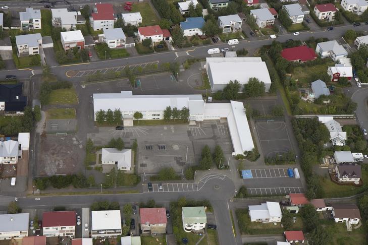 Leiktæki við Kársnesskóla við Skólagerði