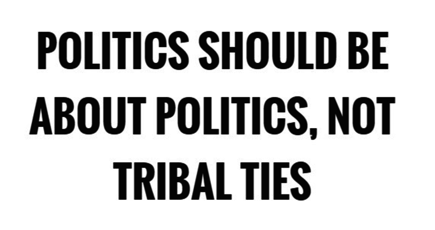 Beyond Tribal Politics