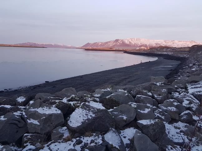 Göngu- hjólabrú út í Viðey