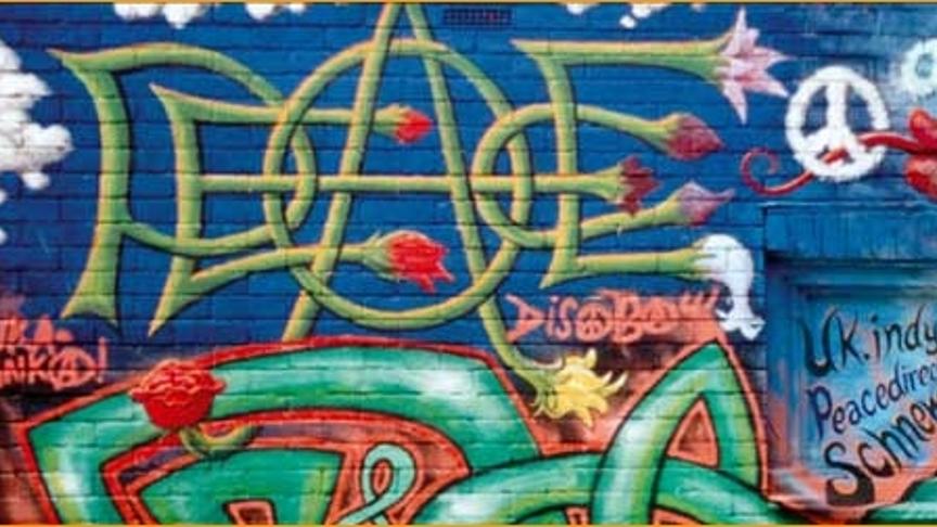 Mural koji slavi mir