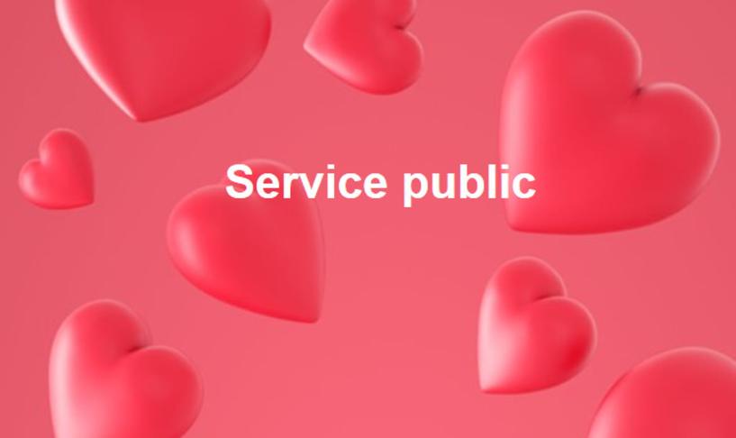 Développer les services publics