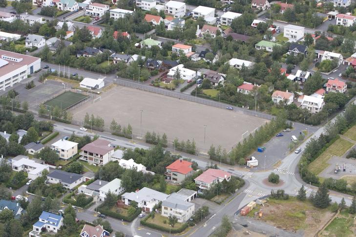 Hugmynd af íbúafundi. Vallargerðisvöllur.