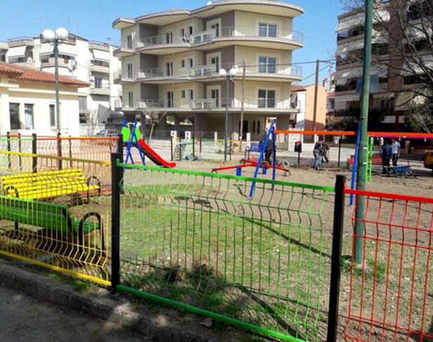 Δημιουργία χώρων πρασίνου/συνάθροισης πολιτών/παιδικών χαρών