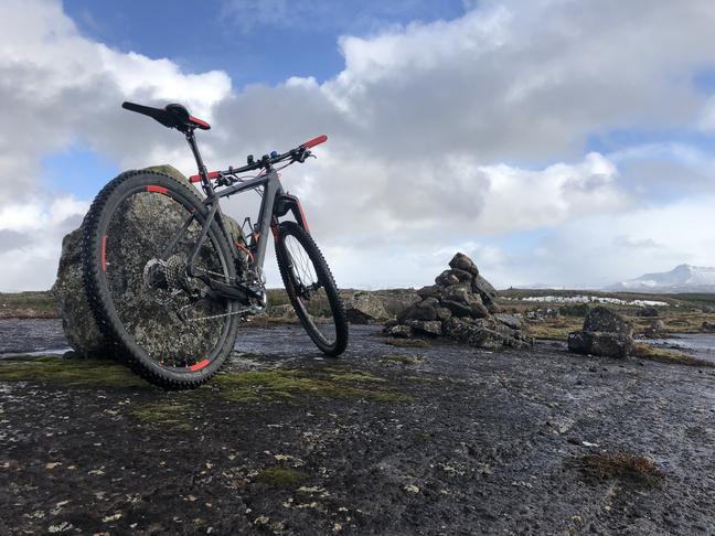 hjólaleiðir á hólmsheiði