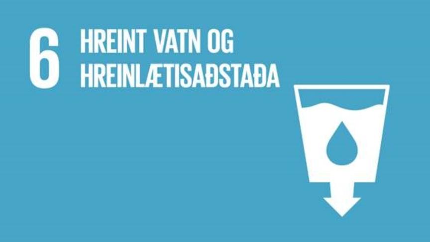 Hreint vatn og hreinlætisaðstaða