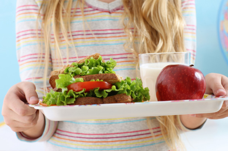 Provide every child with a nutritious school lunch