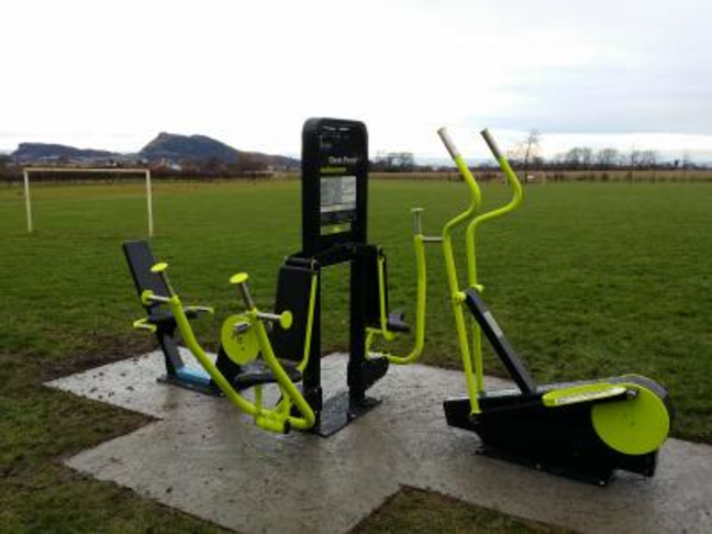 MULTI GYM IN PLAY PARK