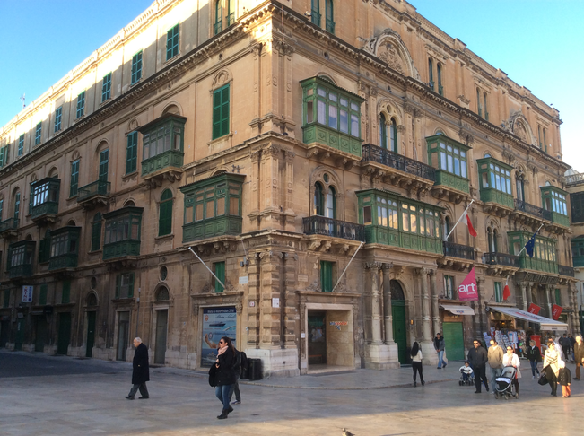 Move CENTRAL PUBLIC LIBRARY to PALAZZO FERRERIA
