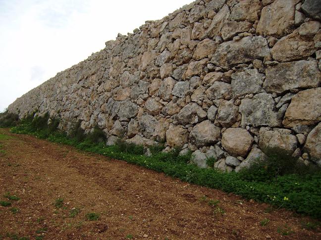 Biedja - Ħitan tas-sejjiegħ