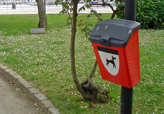 Postaviti kantice za pseći izmet
