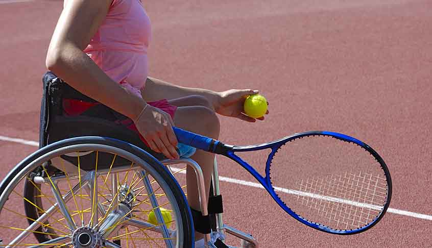 Promote sport with people with disabilities