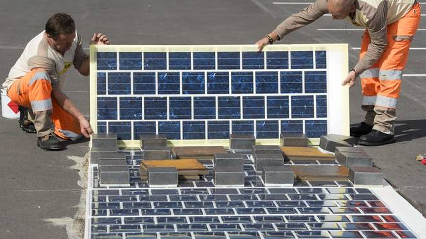 Pursue research being carried out on solar roads