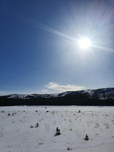 Gönguskíðabraut á Reynisvatnsheiði