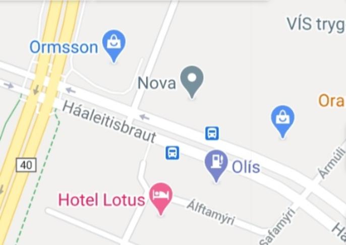 Bæta öryggi bíla og gangandi við mót Lágmúla Háaleitisbraut