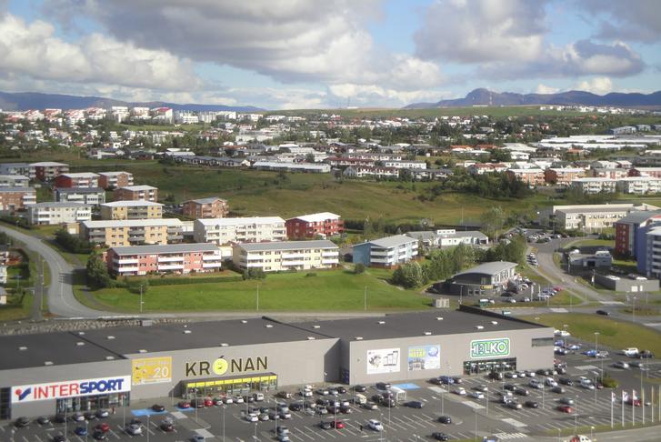Hjólatenging yfir/við Hlíðardalsveg