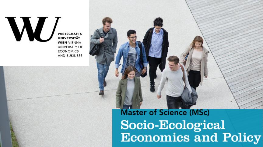 MSc Socio-Ecological Economics and Policy (WU Vienna)