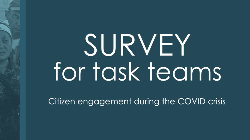 Task team survey