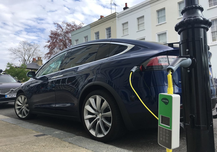 Electric Vehicle Charging Points Blocked