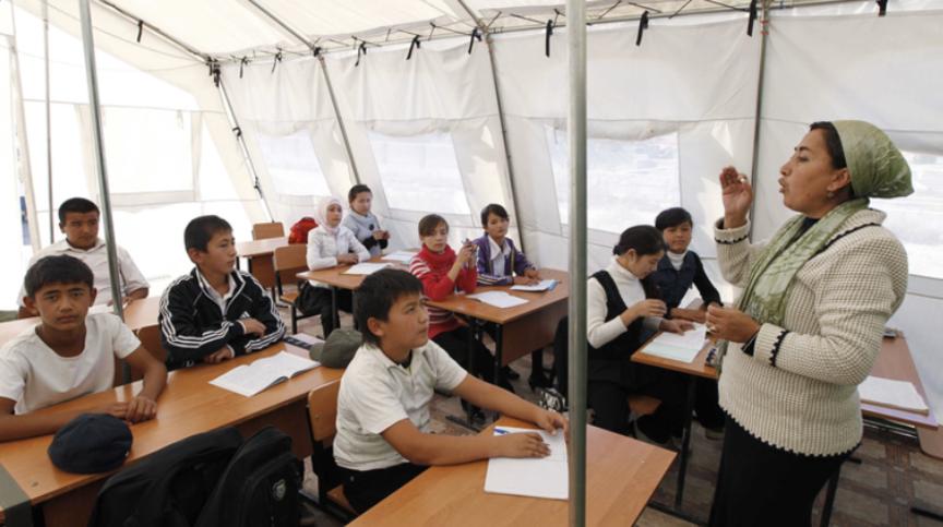 Мониторинг и обследование сообществ в Ошской облас