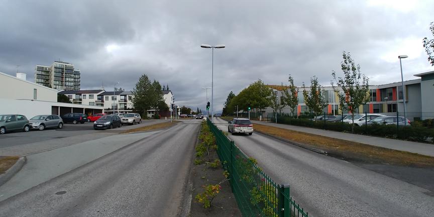 Skeiðavogur - hægja á umferð
