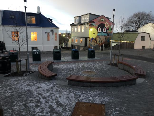 Niðurgrafin grenndarstöð við Stórholt/Einholt