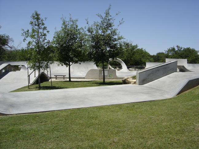 Skatepark í Skerjó