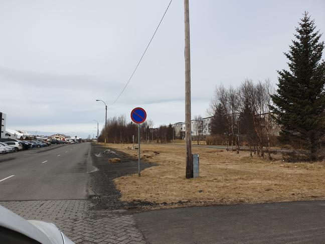 Laga frágang á Suðurlandsbraut fyrir neðan Gnoðarvog