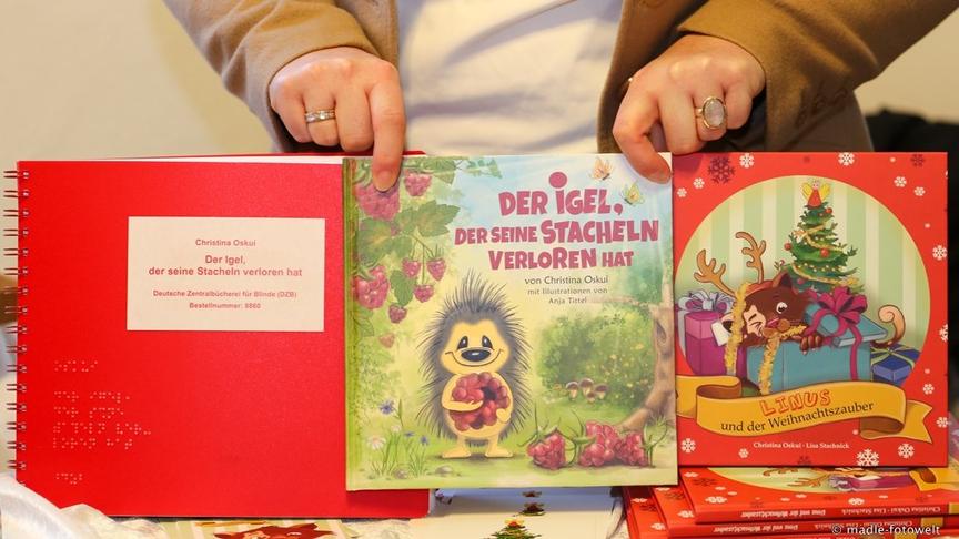 Bilderbücher für Blinde