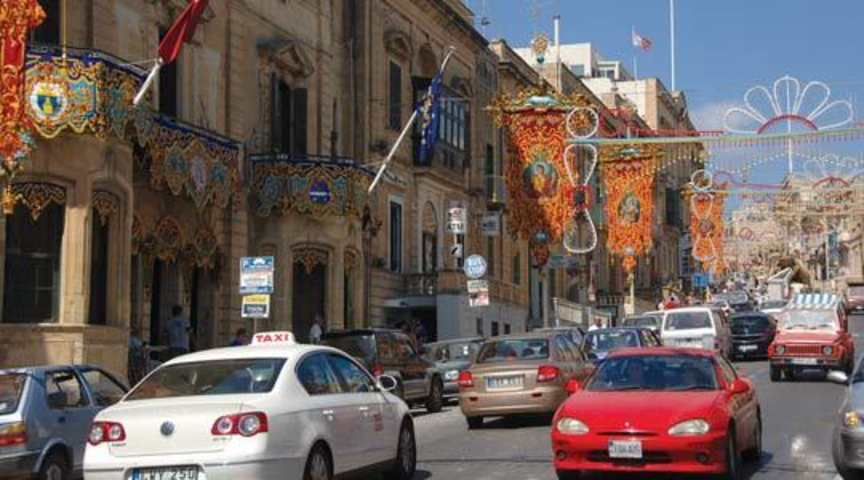 Ring road or bypass around Victoria Gozo
