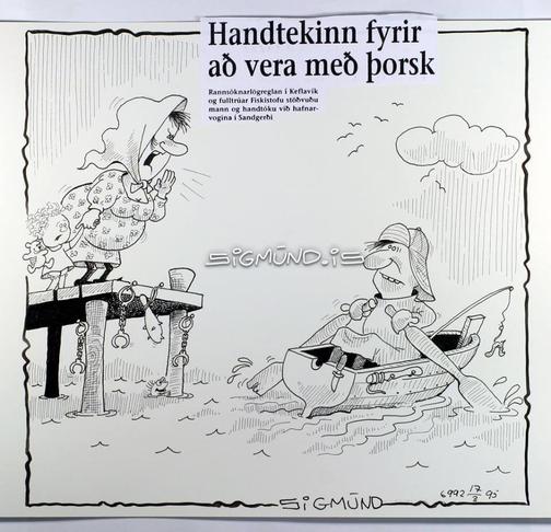 Frjálsar handfæraveiðar báta undir 12 metrum.