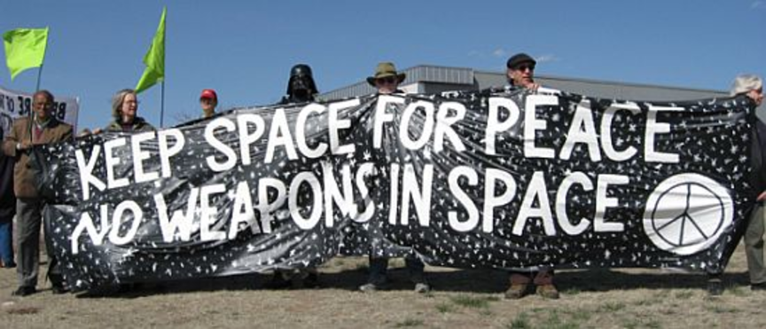 Demilitarize Space - No Weapons in Space
