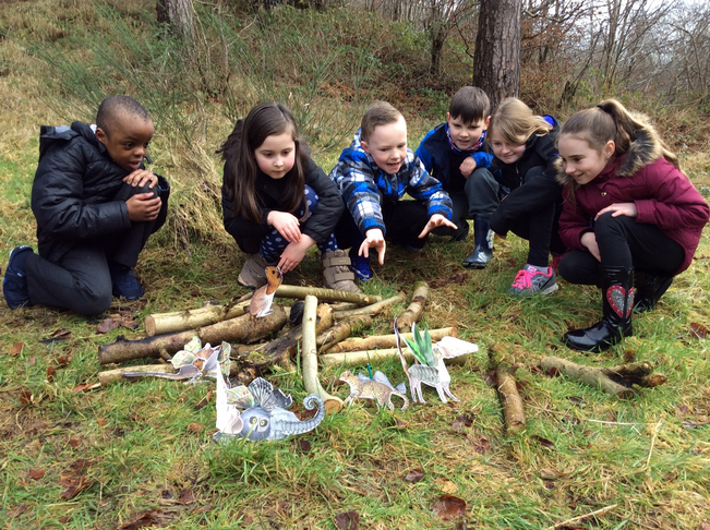 Outdoor Learning and Arts Easter week