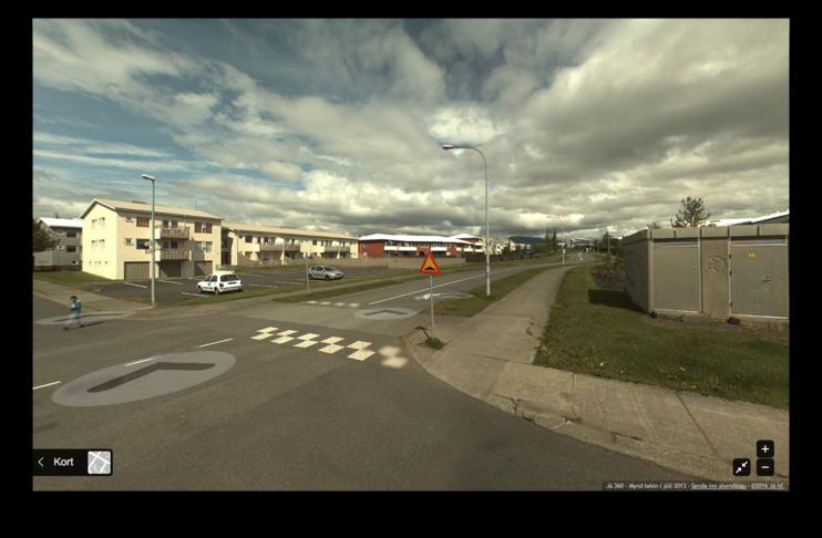 Fleiri þrenginar/gangbrautir við Langarima
