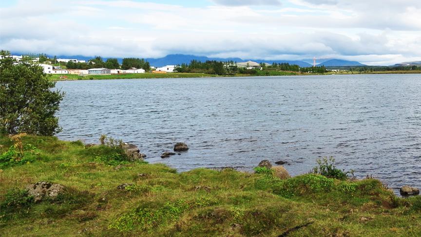 Göngustígur við Fornahvarf