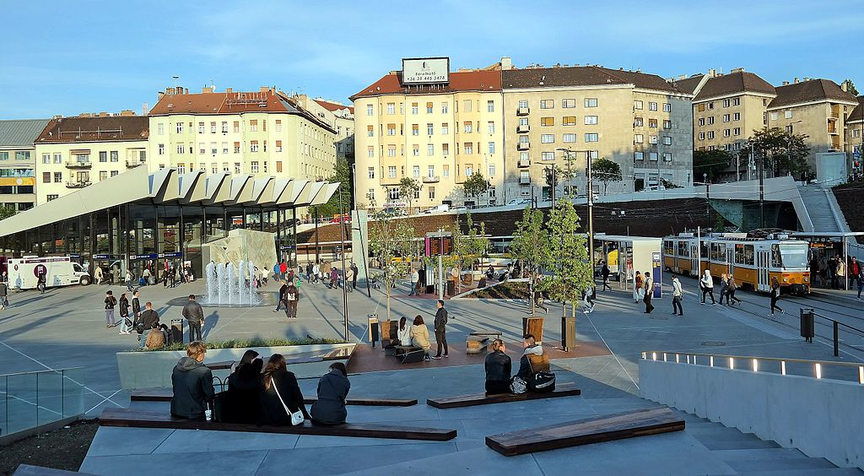 Széll Kálmán tér mobilitási pont
