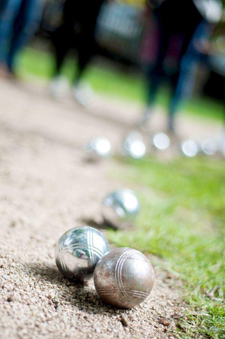 Boules in Victoria Park