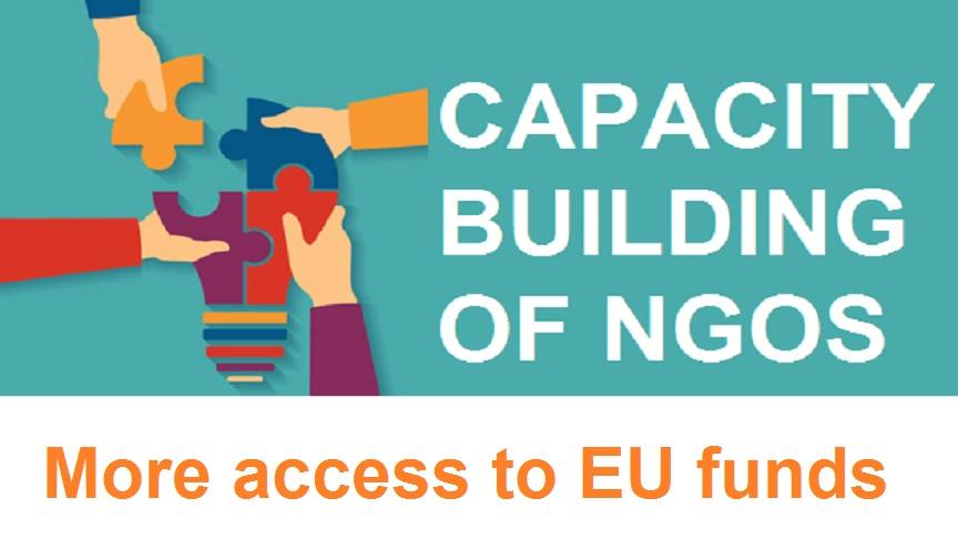 Capacity Building of NGOs and advocacy through EU funding