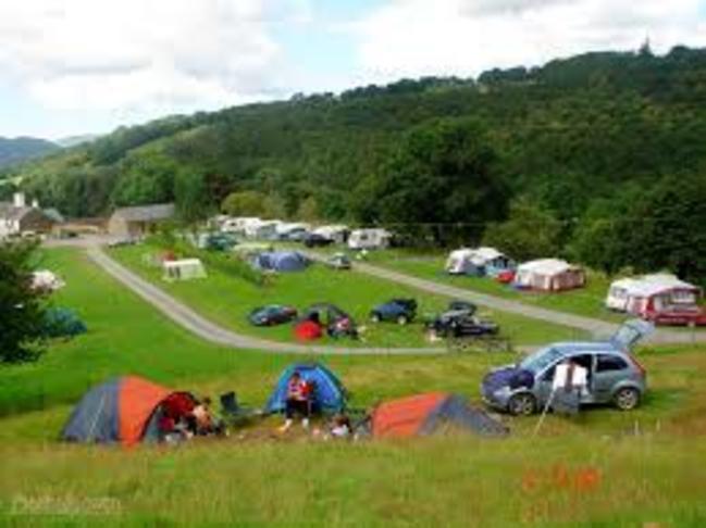 organised campsites