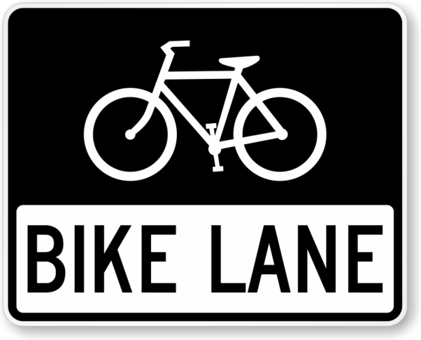 Bicycle lanes in infrastructure