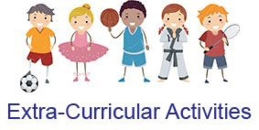 Extra curricular activities for children to be held at schoo