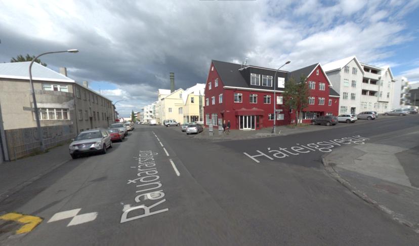 Meiri gróður við Rauðarárstíg og Háteigsveg.