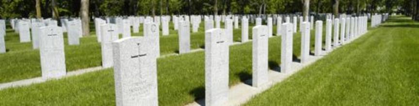 Great cemeteries $$